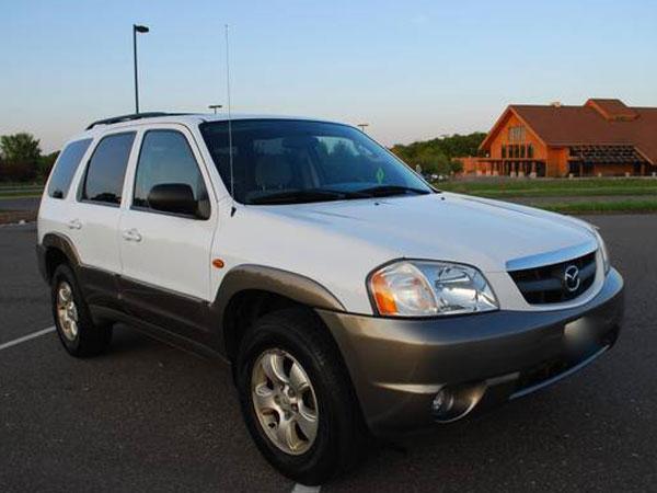 2004 Mazda Tribute LX V6  4WD Insurance $43 Per Month
