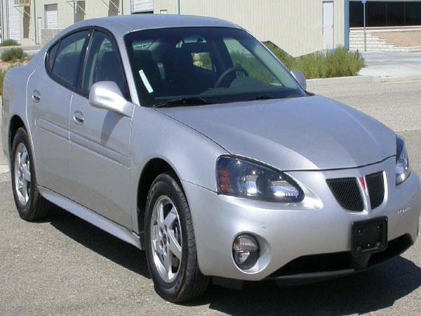2004 Pontiac Grand Prix GT2 Insurance $100 Per Month