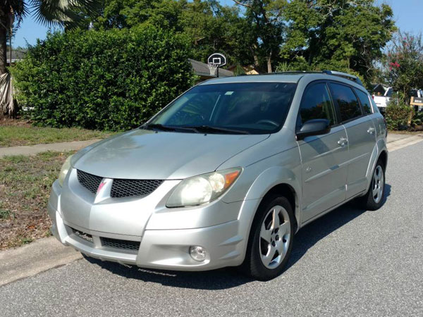 2004 Pontiac  Vibe Base Insurance $43 Per Month