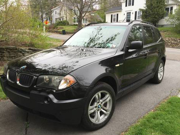 2005 BMW X3 3.0i Insurance $75 Per Month
