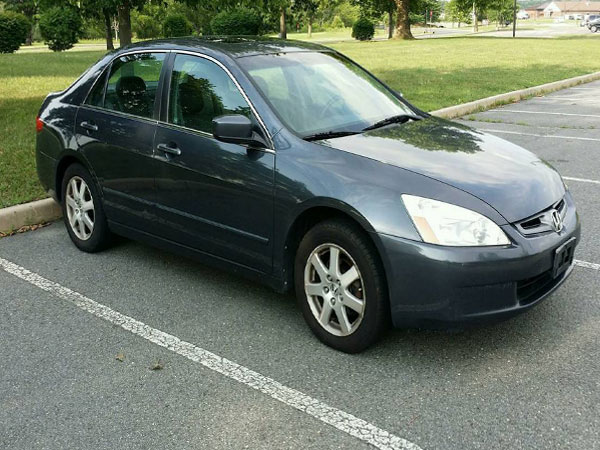 2005 Honda Accord EX V6 Insurance $63 Per Month