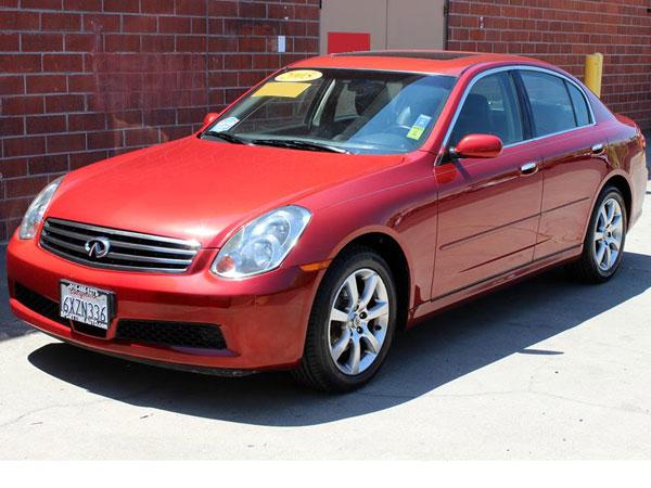 2005 Infiniti G35 Sedan Insurance $79 Per Month