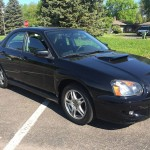 2005 Subaru Impreza WRX Base Insurance $84 Per Month