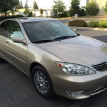 2005 Toyota Camry  Insurance $57 Per Month