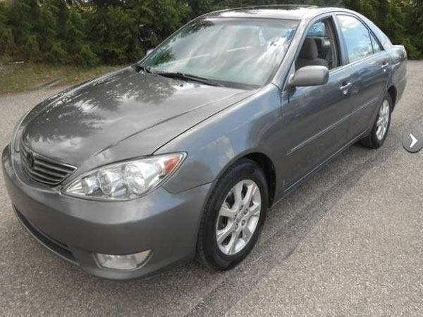 2005 Toyota Camry XLE  Insurance $31 Per Month