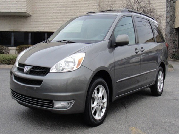 2005 Toyota  Sienna Insurance $100 Per Month