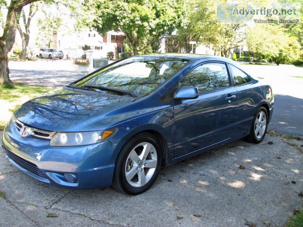 2006 Honda Civic Coupe LX Insurance $56 Per Month