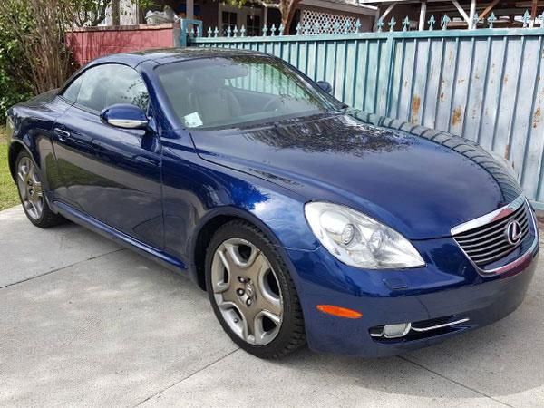 2006 Lexus SC 430 Base   Insurance $125 Per Month