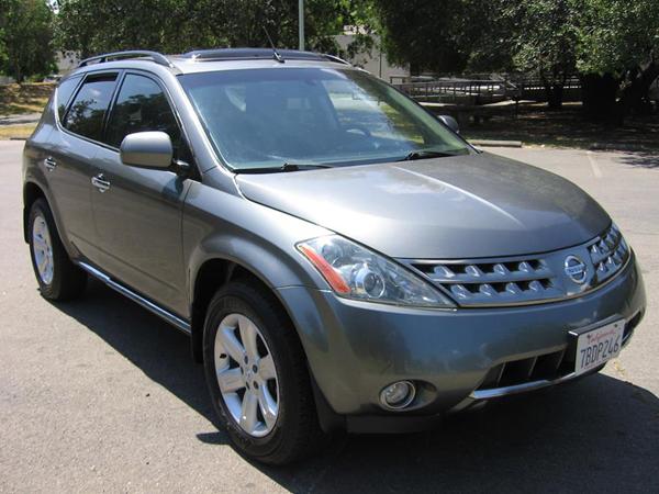 2006 Nissan Murano SL Insurance $73 Per Month