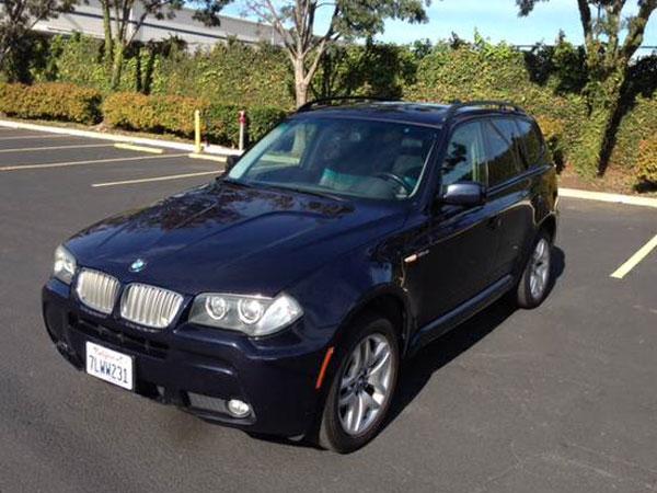 2007 BMW X3 3.0 Si Insurance $87 Per Month