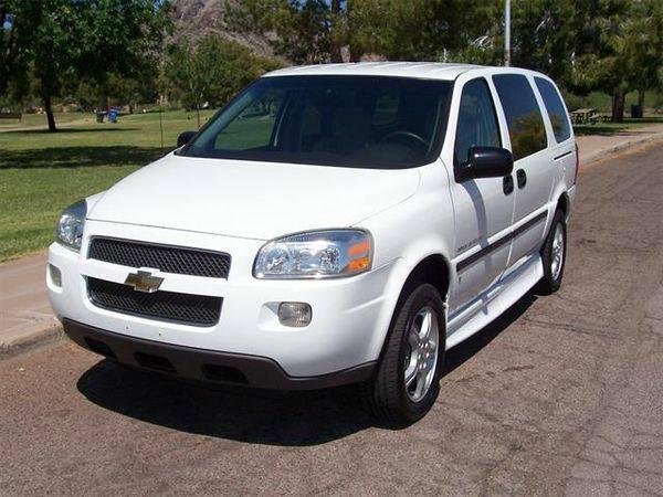 2007 Chevrolet Uplander Insurance $100 Per Month