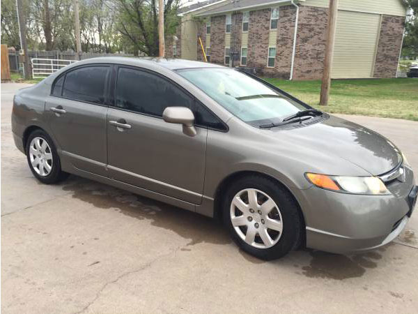 2007 Honda Civic LX Insurance $65 Per Month