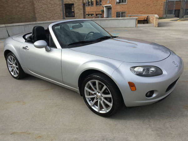 2007 Mazda MX-5 Miata  Insurance $77 Per Month