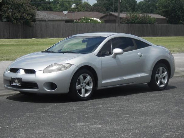 2007 Mitsubishi Eclipse GS Insurance $56 Per Month