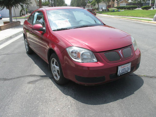2007 Pontiac G5 Insurance $100 Per Month