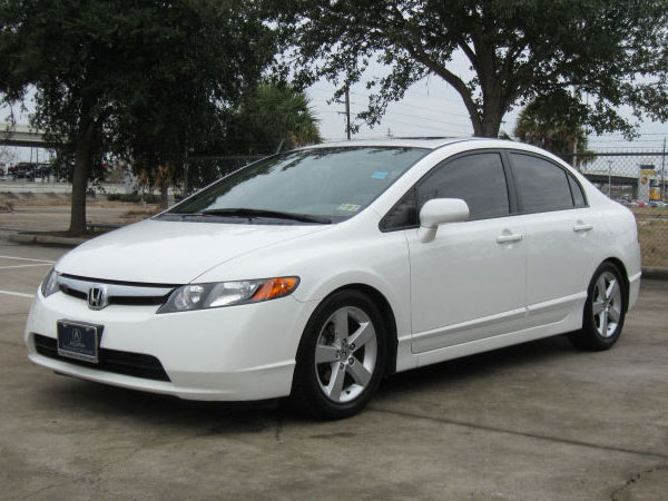 2008 Honda Civic LX Insurance $70 Per Month
