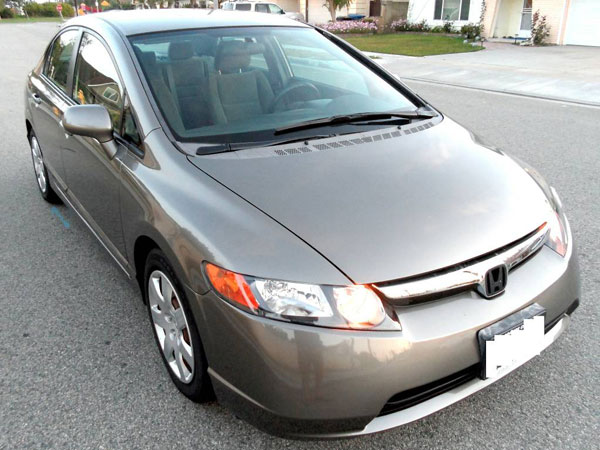 2008 Honda Civic LX Insurance 71 Per Month