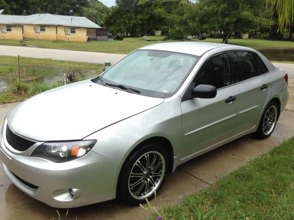 2008 Subaru Impreza  Insurance $72 Per Month