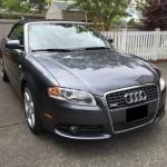 2009 Audi A4 2.0T Cabriolet Insurance $132 Per Month