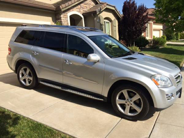 2009 Mercedes-Benz GL -Class GL 450 Insurance $180 Per Month