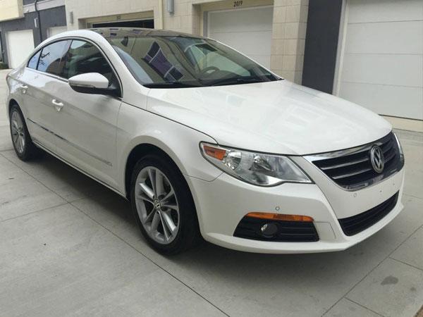 2009 Volkswagen CC Luxury Insurance $85 Per Month