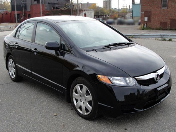 2010 Honda Civic LX Insurance $72 Per Month