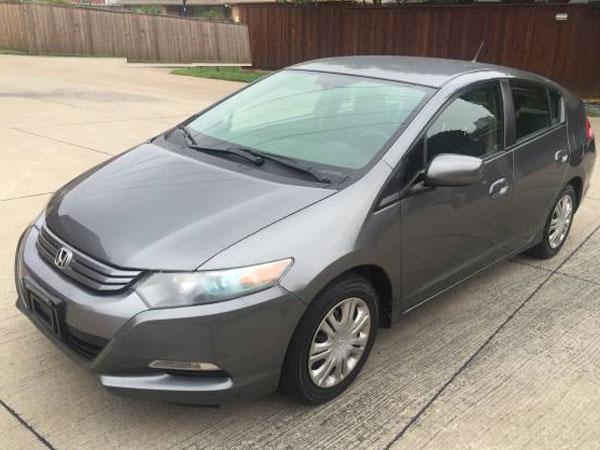 2010 Honda Insight LX Insurance $74 Per Month