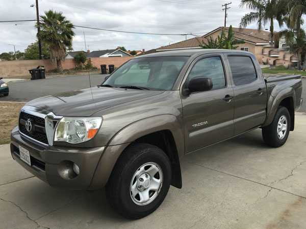 2011 Toyota Tacoma Prerunner Double Cab Insurance $198 Per Month