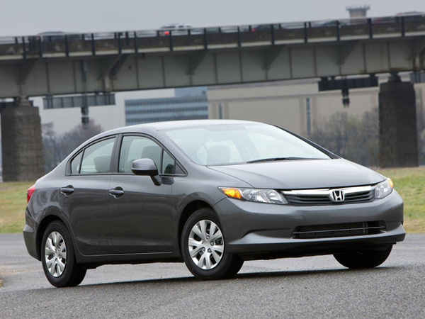 2012 Honda Civic Coupe  Insurance $101 Per Month