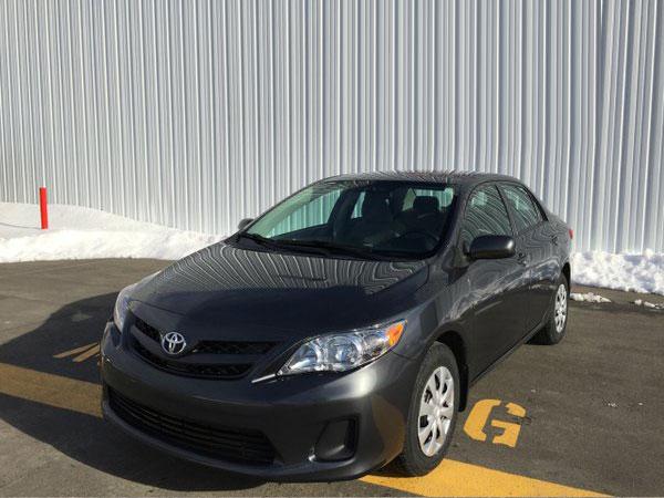 2012 Toyota Corolla Insurance $100 Per Month
