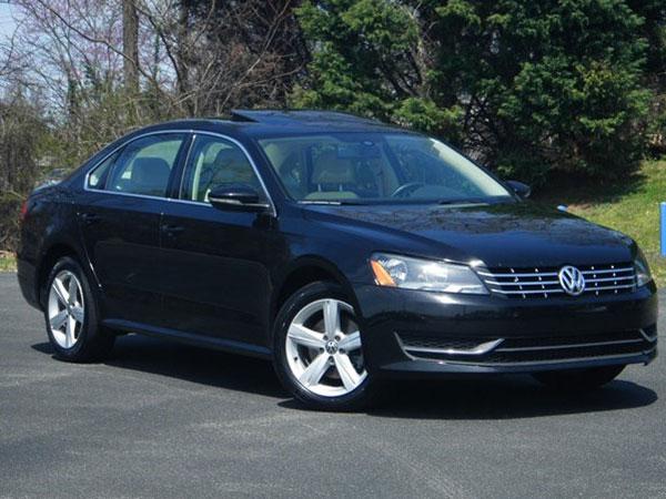 2012 Volkswagen Passat Insurance $104 Per Month