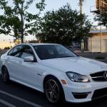 2013 Mercedes-Benz C-Class C63 AMG Insurance $363 Per Month