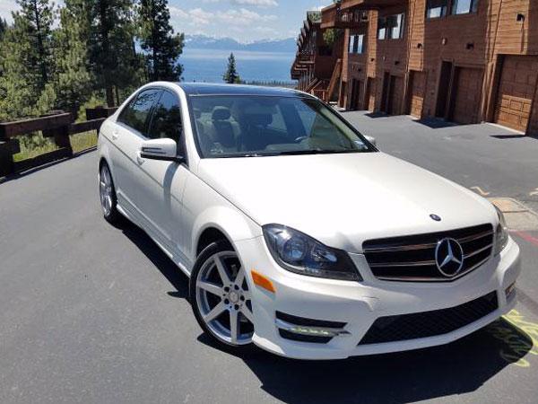 2013 Mercedes-Benz C-Class Insurance $187 Per Month