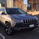 2014 Jeep Cherokee Trailhawk 4WD Insurance $214 Per Month