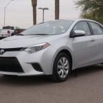 2014 Toyota Corolla Insurance $123 Per Month
