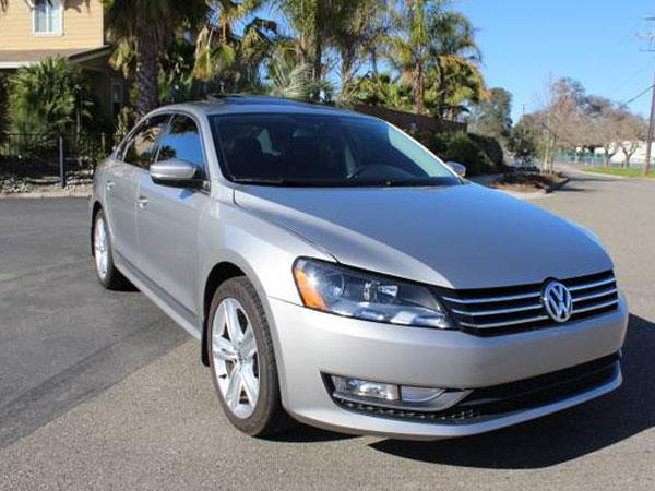 2014 Volkswagen Passat Insurance $124 Per Month