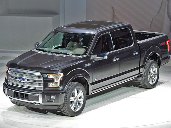 2015 Ford F-150  XL SuperCrew 4WD Insurance $270 Per Month